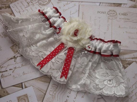 Vintage Garter - wedding garter, bridal garter, lace garter, blue garter, something blue, luxury garter, keepsake, heirloom, lingerie