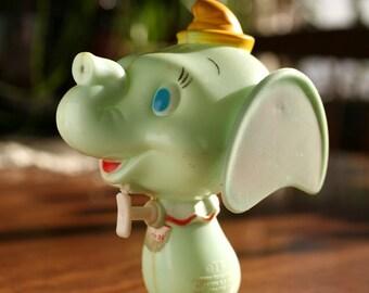 Vintage Durham Industries Dumbo Water Gun - Walt Disney Water Pistol Elephant