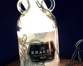 The Kraken - Black Spiced Rum Octopus Bottle Bar/Table Lamp