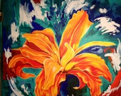 Colorful Flower Painting - If Lilly Dreamed
