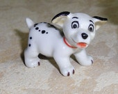 Vintage Wade Whimsie - Disney Hatbox Series, Lucky from 101 Dalmations Manufactured 1940-59