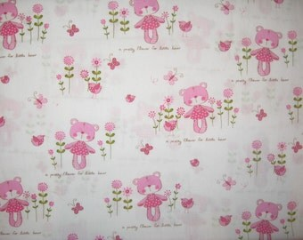 "Little Bear Holland fabric fat quarter 18"" X 29"""