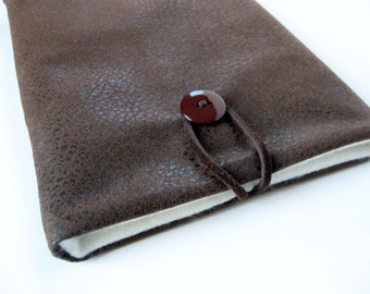 Kindle Sleeve Leather Look for men