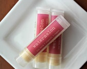 WATERMELON Lip Balm, Organic Lip Balm, Vegan Lip Balm
