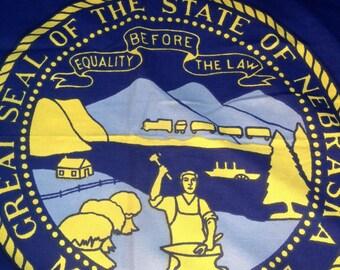 Nebraska Fans Should Jump On This Vintage Bulldog Cotton State Flag