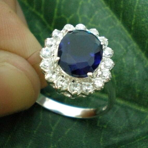 Catherine Middleton Wedding Ring: Kate Middleton Silver Engagement Ring Royal Wedding By
