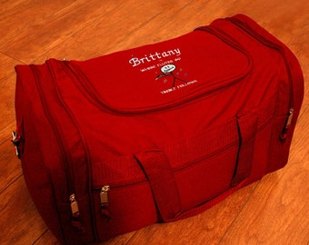 Personalized Duffel Bag - Flute