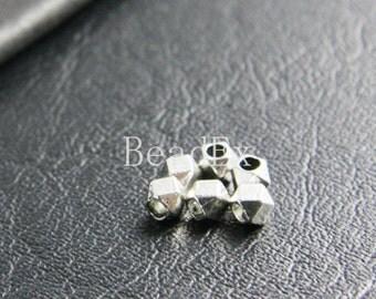 100pcs / Spacer / Oxidized Silver / Base Metal / 4.5mm (XA2788//B125)