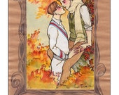 Autumn Kiss Print