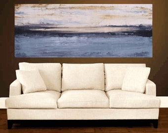 "72"" painting  wall art  large painting landscape abstract painting   jolina anthony signet  express shipping"
