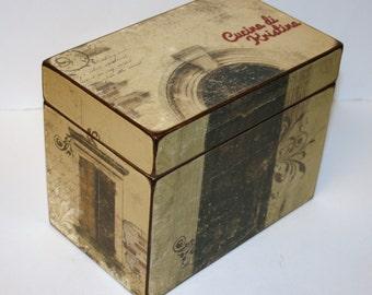 Wedding Guest Book Box, 4x6 Recipe Box, 4 x 6 Custom - You Design It, Handmade Personalized Wooden Wedding Guest Book Box or Recipe Box
