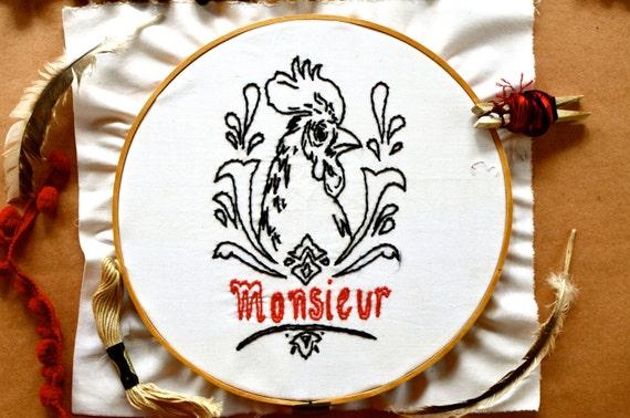 Embroidery Pattern Monsieur-Madame PDF file
