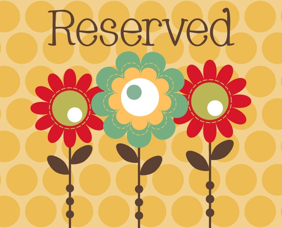 Reserved for Tayshi