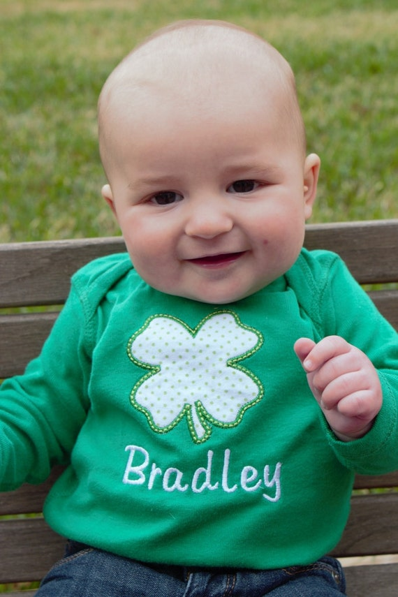 St. Patrick's Day is a holiday full of shamrocks, leprechauns and all things green. Help your kids get in the seasonal spirit with a brand new St. Patrick's Day outfit that will have their friends green with envy.