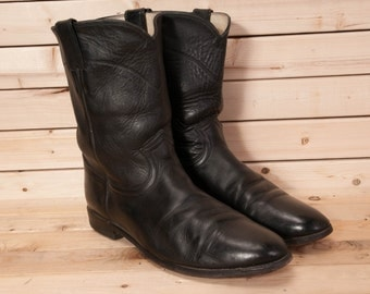 11EE extra wide Justin Mens Boots size