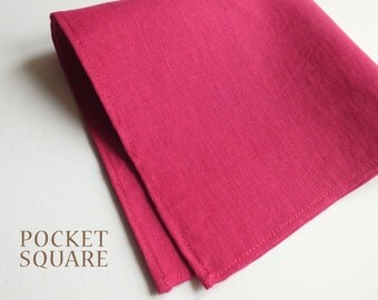 Pocket Square - choose your fabric - made to order
