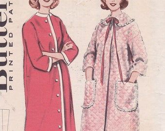 Butterick 9211 Size 16 Bust 36 Quick n easy robe Misses sewing pattern