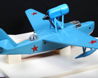 Soviet Russian Army Collectible WWII Military flying boat MBR-2 Metal Model 1:72