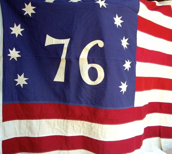 american flag 50 stars 1976 corvette