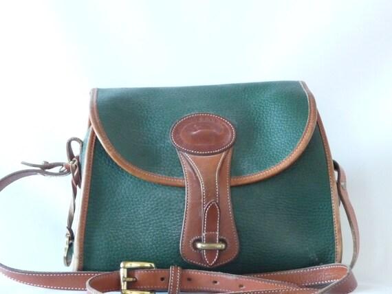 Dooney & Bourke Crossbody Purse Green British Medium Esses Bag