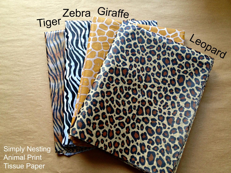 Buy a paper zebra
