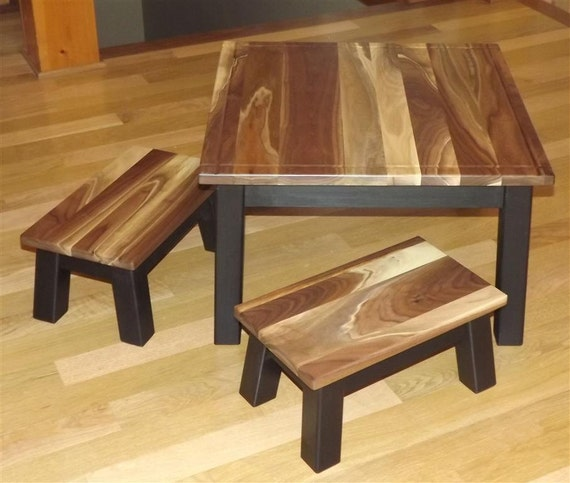 Items similar to reclaimed wood childrens table and for Wooden kids table