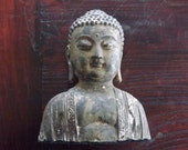 Vintage Bronze Buddha Statuette