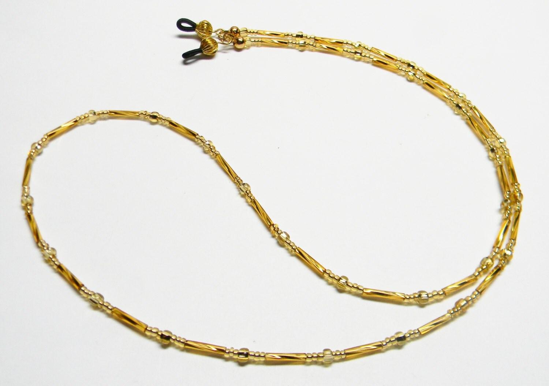 beaded eyeglass chain eyeglass leash glasses holder by