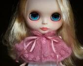 PATTERN - Bobbled cape for Blythe dolls knitting pattern INSTANT DOWNLOAD