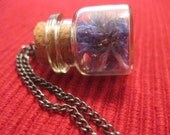 Little Piece of Nature Bottle Necklace