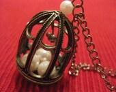 Pearl Prison Necklace