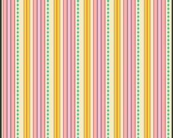 CLEARANCE - FABRIC - Sugar - Honey Ribbons - Art Gallery Fabrics - 1 yard