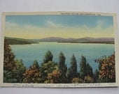 Postcard 1948 Westport Bay on Lake Champlain - BarnshopAntiques