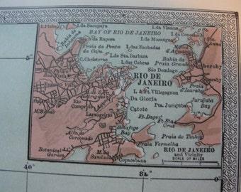 Map original vintage 1911