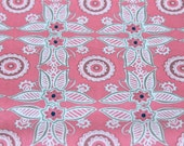 Cotton Fabric - Art Gallary Fabric - Memories from Kandesh Design - Floral Enamel/Pink - Apparel wear - quilting fabric - nursing cover