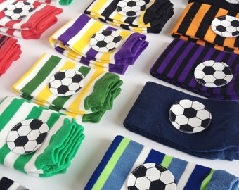 Soccer Baby Leg Warmers - Any Color