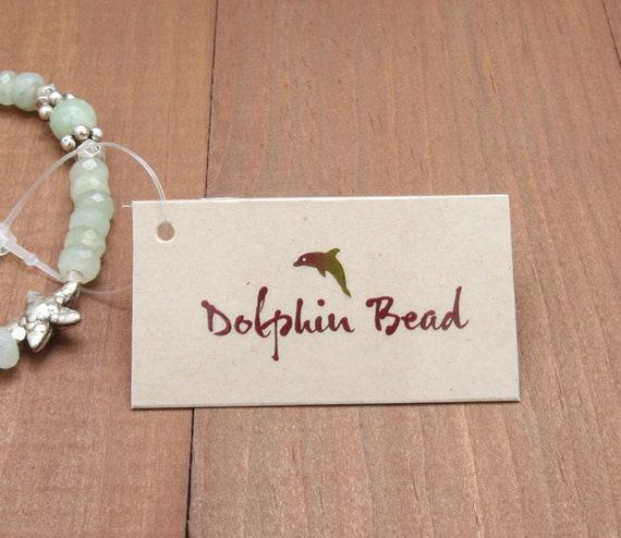 500 Medium Jewelry Tags Custom Printed With Your Name Or