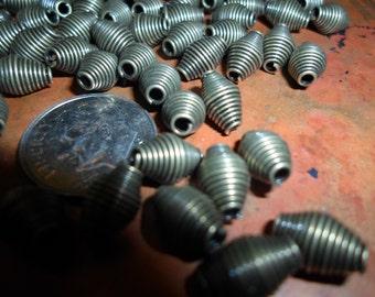 Antique Brass Iron Spring Beads