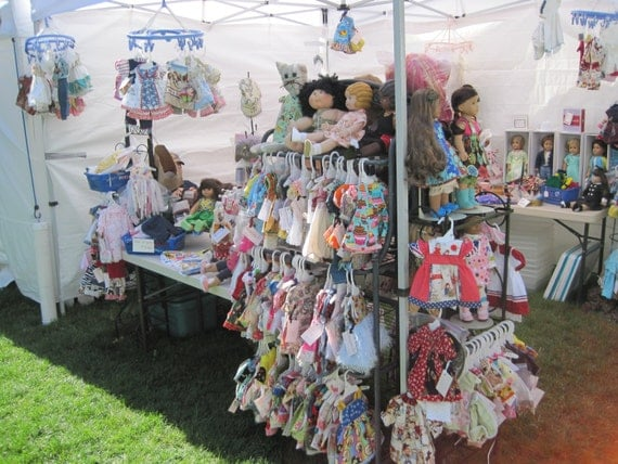 Private listing for michelle for Clothing display ideas for craft shows