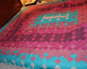 Frabric Dance King Sized Quilt