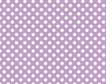 Small Lavendar Dots by Riley Blake - 1 yard