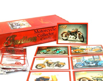 Indian Motorcycle Collector Cards Lot of 2 Packs
