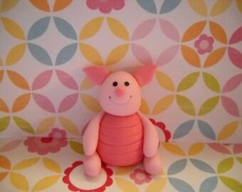 Piglet Inspired Cake Topper