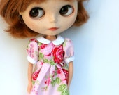 Blythe dress - Roses are red