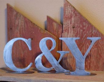 Metal Initials Ampersand Wedding Decor