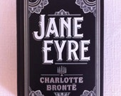 book clutch - Jane Eyre by Charlotte Bronte