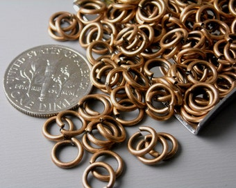JUMPRING-CPPR-20G-6MM - 20 gauge 6mm Antique Copper Open Jump Rings - 50 pcs