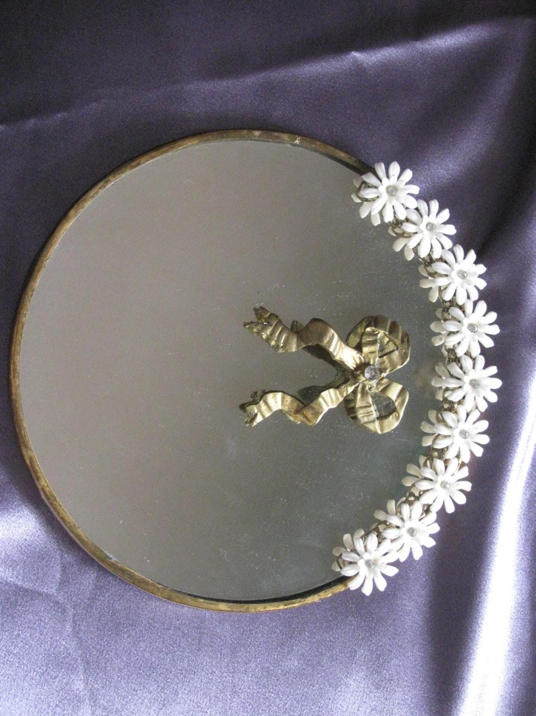 Command Wall Stickers Flowered Vintage Dresser Mirror Mirror Accessories