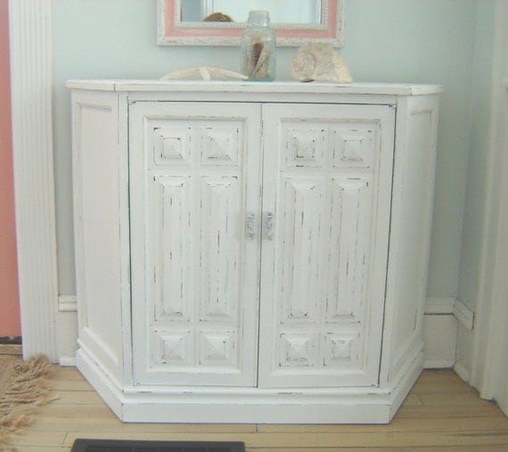 Vintage white shabby chic furniture by seasidefurnitureshop - White shabby chic furniture ...