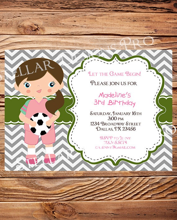 Printable Football Party Invitations as beautiful invitation design